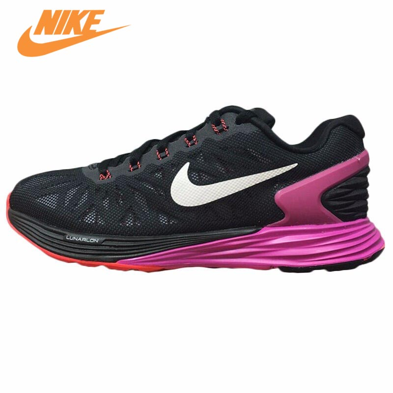 47983244a071b Original New Arrival NIKE Breathable LUNARGLIDE 8 Women s Running Shoes  Sneakers Trainers