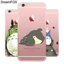 DREAMFOX L092 Studio Ghibli духом Мягкие TPU силиконовый чехол для Apple IPhone X XR XS Max 8 7 6 6 S Plus 5 5S SE 5C 4 4S(China)