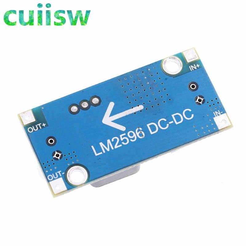 1 pièces haute qualité 3A réglable DCDC LM2596 LM2596S entrée 4 V-35 V sortie 1.23 V-30 V dc-dc abaisseur module de régulateur d'alimentation