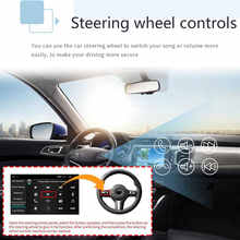 9'' Android 9.0 PX6 8 core 2Din Car Multimedia Player GPS Radio Video 4+32G bluetooth Mirror Link Car MP5 Player +Backup Camera