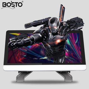 Image 2 - BOSTO 21.5in X3 Alle in einem Grafiken Tablet Monitor zu Zeichnen Volle HD Hand gemalt Maschine mit Kunst Zeichnung handschuh und Einstellen Stehen