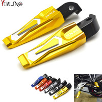 Motorcycle CNC dirt bike passenger rear foot pegs motorbike footrest pegs For yamaha t max500 tmax 500 2011 2010 2009 2008 2007