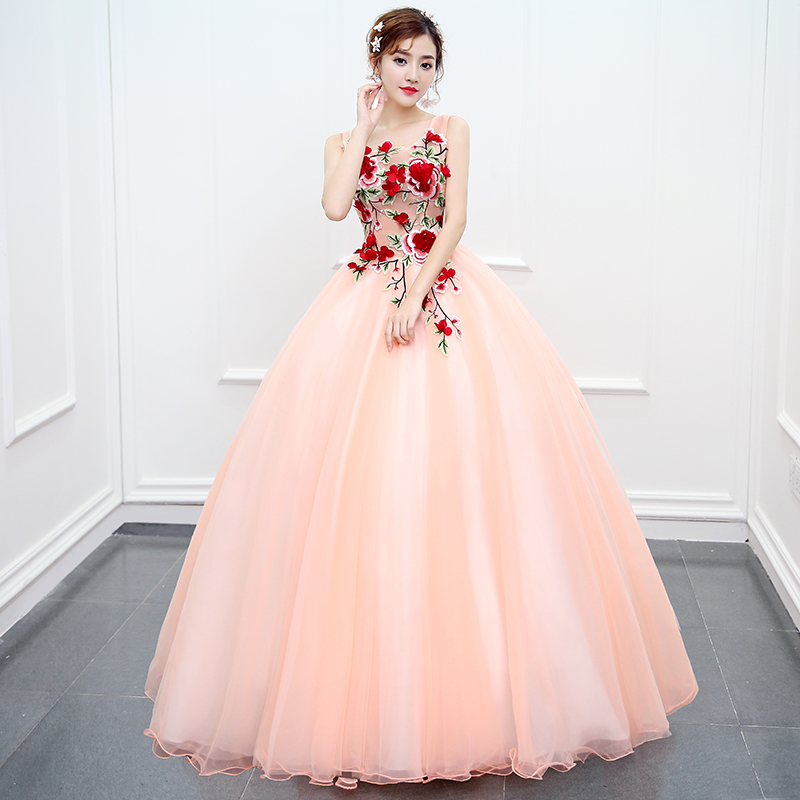Hollow Out Custom Dress Vestidos De 15 Anos Princess Gowns Elegant Girl Sleeveless Ball Gown Sexy Debutante Quinceanera Dresses