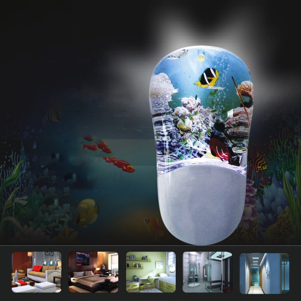 New Arrival Smart Plug-in Motion Sensor LED Night Light Daylight for Bedroom Home Decor Drop Shipping Wholesle Sale