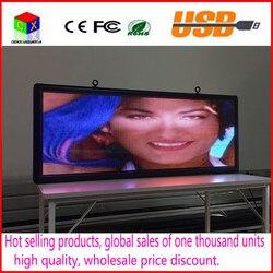 Открытый полноцветный P5 светодиодный дисплей Размер 15x40 дюймов рекламный видео экран/изображения знаки/доска объявлений для наружного исп...