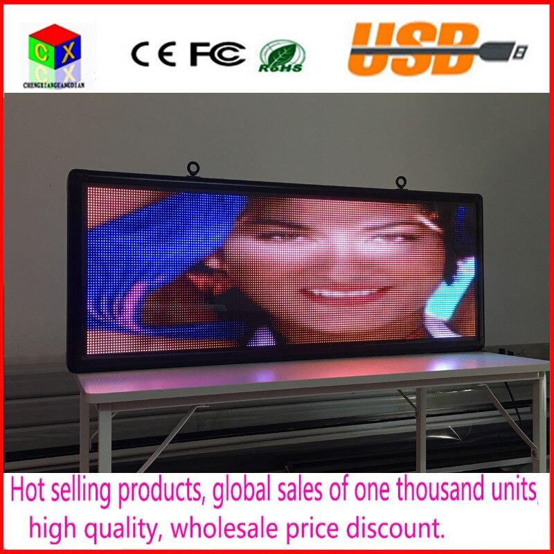 Открытый полноцветный P5 светодио дный Размер дисплея 15x40 cm рекламный видео экран/изображения знаки/доска объявлений