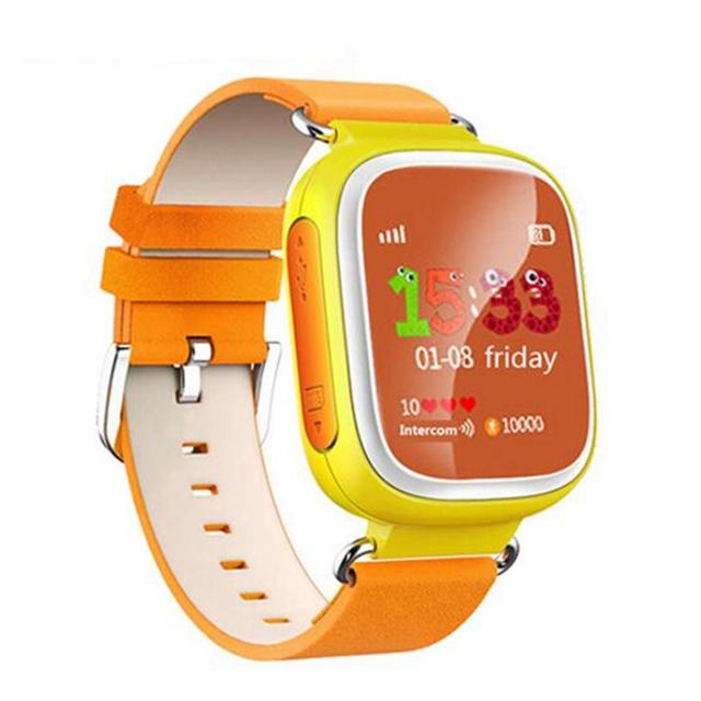 Q80 wifi Tela de Toque Inteligente Relógio bebê Dispositivo Localizador GPS relógio Rastreador para Crianças Anti Perdido