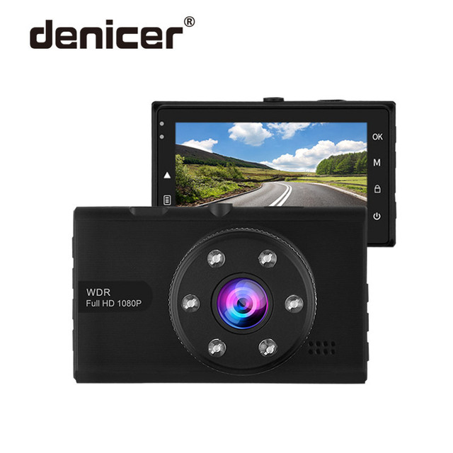 Car Dash Camera FULL HD 1080P DVR 3.0 Inch Screen Dashcam 170 Degree Wide Angle Car Video Recorder Camera With Loop Recording