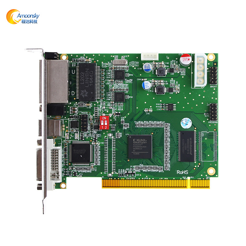 hot selling ds802d led screen billboard led video wall controller controller led sign panels bus video led sign p5 flashing led route sign in china