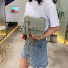 2019 Crossbody Bags For Women Leather Messenger Bags Small Chains Leather Shoulder Bag Female Sac A Main Summer Girls Bag New vickaweb genuine leather crossbody bags for women 2017 female bag alligator new women messenger bags small female shoulder bag