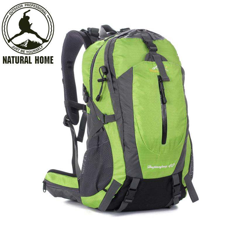 Climbing Bag Water-resistant Men Women Outdoor Backpack Sport Hiking Camping Rucksack Mountaineering Knapsack Bag