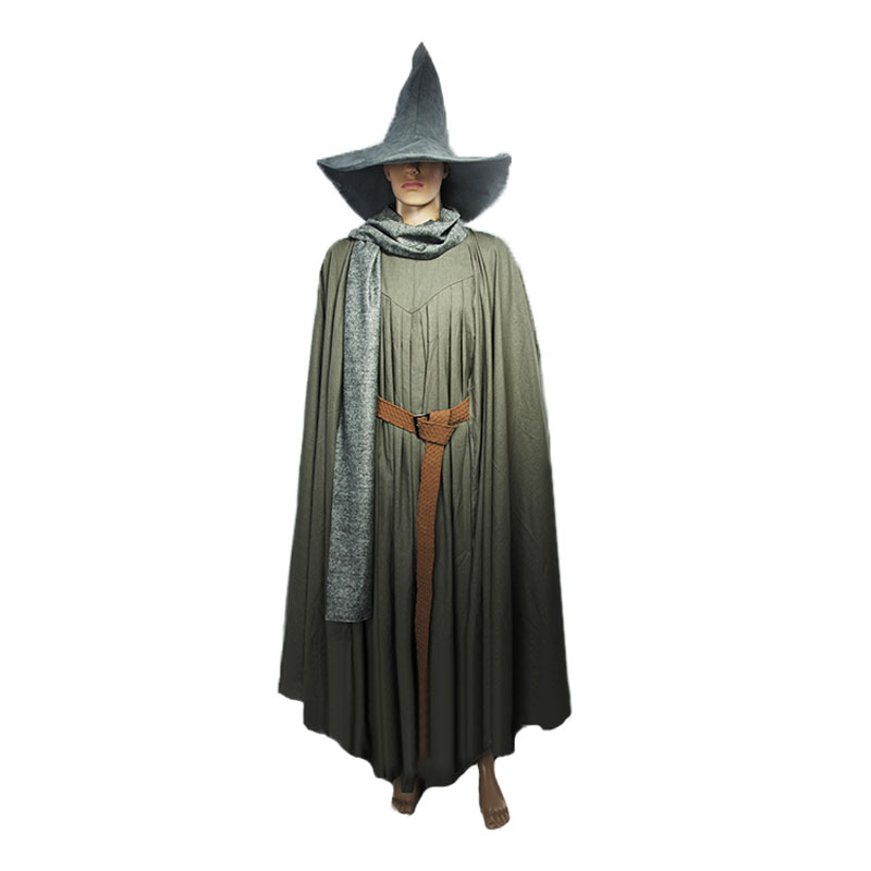 Lord Of The Rings Gandalf Wizard Cosplay Costume Halloween Party Adult hat
