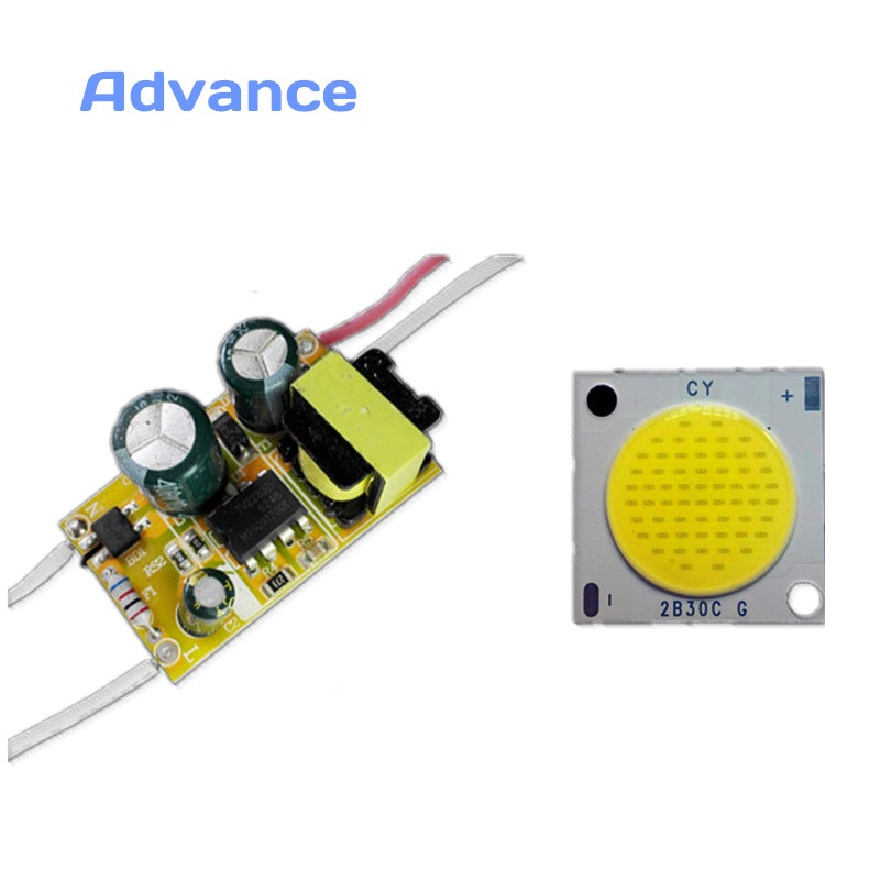 LED Driver with Cob DIY Flashlight diode the power module abajur light emitting diode dimmer Lens 120 Beam Angle controller Year