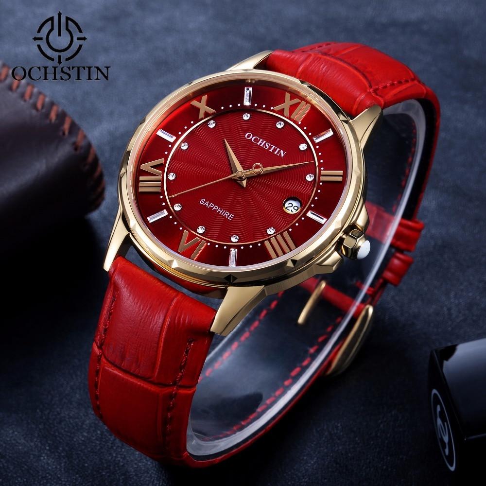 Fashion Sapphire Quartz Watches Women Luxury Leather Casual Dress Women s Watch Clock Female reloje mujer
