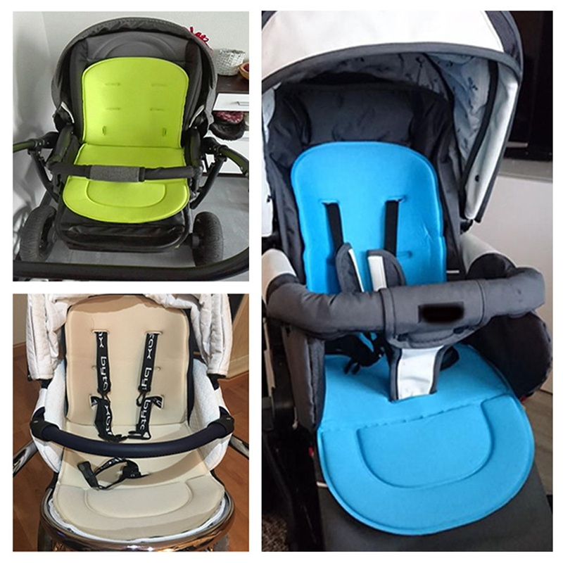Hot Fashion Baby Universal Thicken Stroller Cotton Pad Prams Stroller Accessories Cotton Child Dining Chair Trolley Seat Cushion