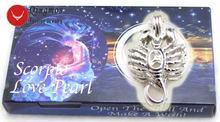 Qingmos созвездия желания жемчуга в одной коробке скорпион кулон