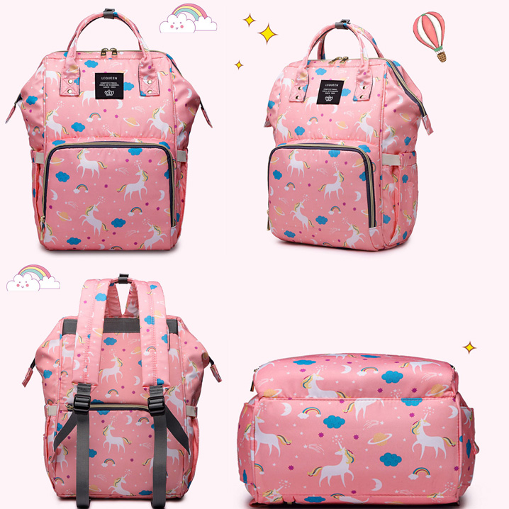 HTB1A0yvaL1H3KVjSZFHq6zKppXad Lequeen Fashion Mummy Maternity Nappy Bag Brand Large Capacity Baby Bag Travel Backpack Designer Nursing Bag for Baby Care