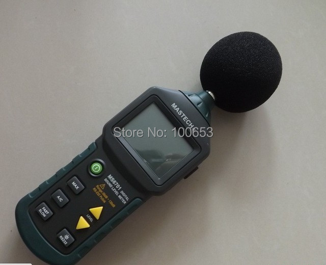Digital Sound Level Meter  MS6701 with 16000 records Memory noise meter sound level meter sk1358