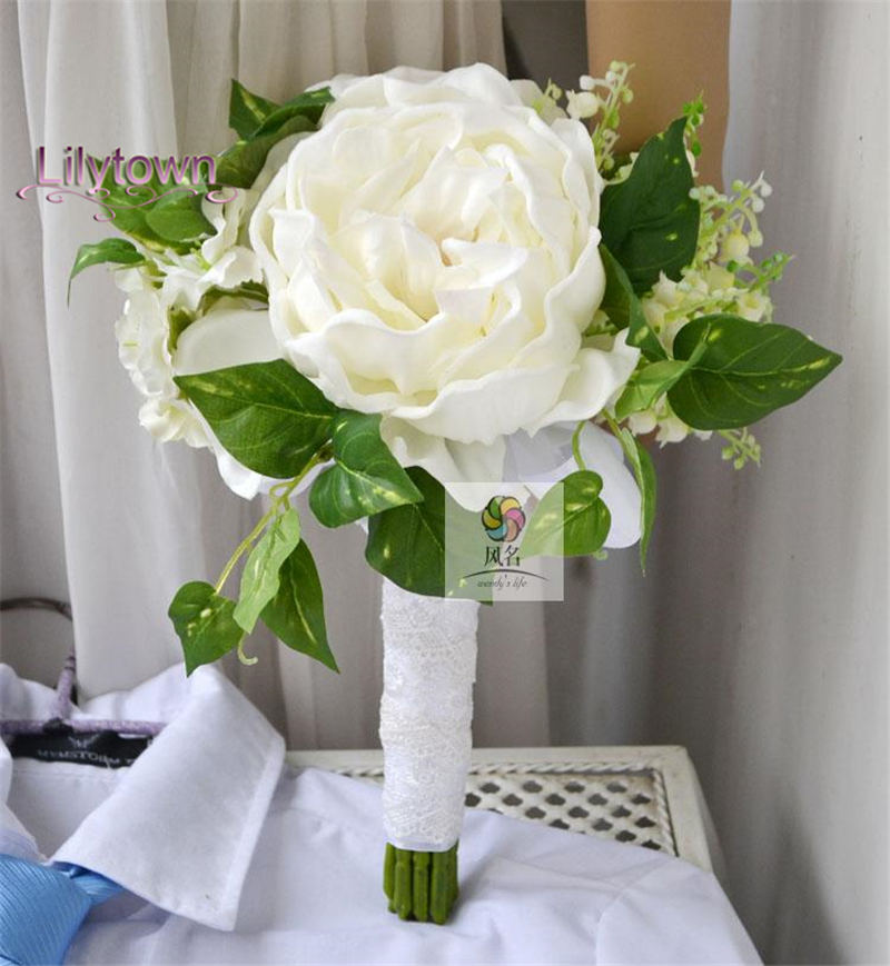 Handmade Wedding Flowers: Wedding Bouquet 2015 Handmade Artificial Flower Wedding