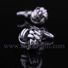 Застежка мужские запонки 1 пара серебряный модный тип