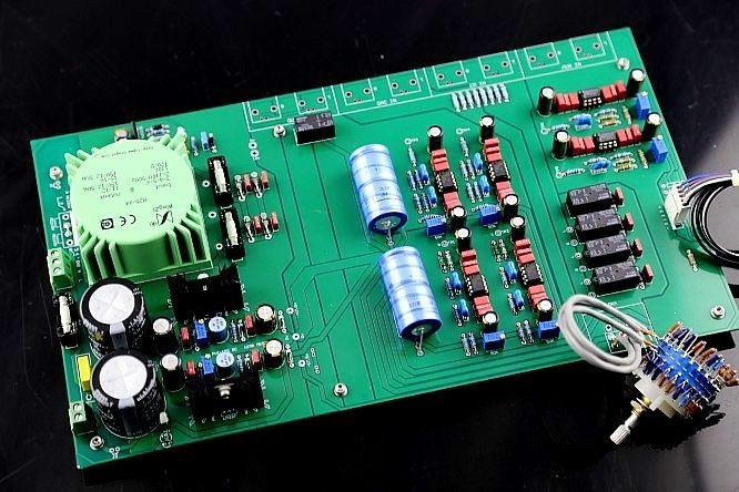 ZEROZONE Hi end Assembled Stereo Preamplifier board base on MBL6010D preamp L8-26 hi endcs3310 remote preamplifier stereo preamp with vfd display 4 way input