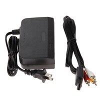 NUOVO COMBO AC DC Power Adapter Power Supply Adattatore Con Cavo AV Convertitore Del Caricatore Spina DEGLI STATI UNITI Per Nintendo 64 Sistema