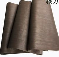 L 2 5Meters Pcs Wide 60cm Thickness 0 2mm Technology Stripe Wood Veneer Furniture Table