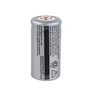 Image 5 - 20 pièces CR123A 3.7V 2500mah 16340 batterie Li ion Batteries rechargeables lampe de poche LED torche voiture électrique jouet batterie