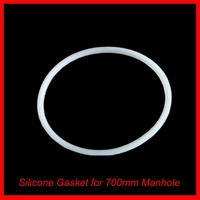 Silicone Gasket F 28 Round Pressure Manway Manhole Cover Replacement Sealing 600mm High Temperature Brewer Hardware