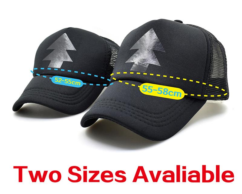 black trucker hat Two size