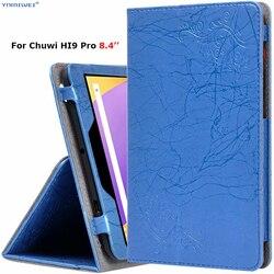 Pokrowiec na Tablet Chuwi Hi9 Pro 8.4 cala luksusowy kwiatowy Print Case PU skórzany stojak powłoka ochronna dla Chuwi Hi9 Pro Case