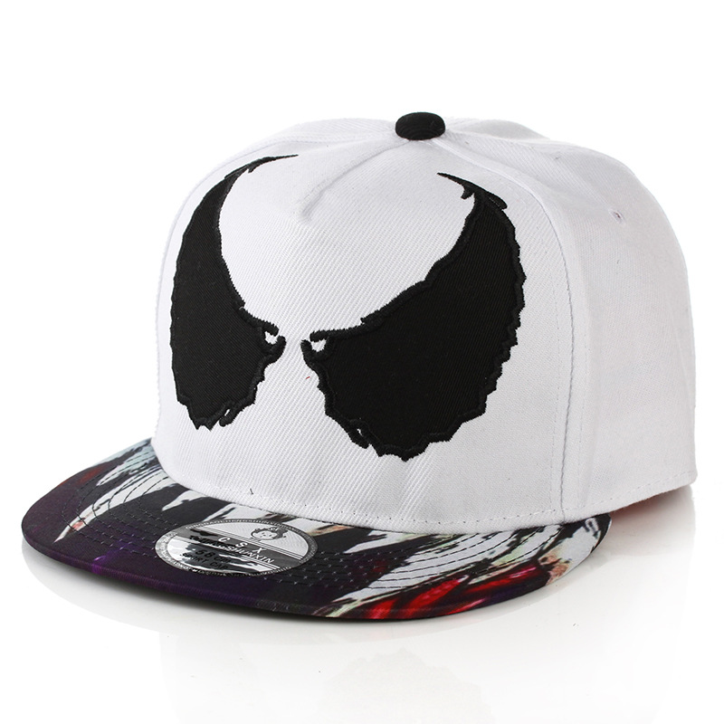 This cotton Venom baseball hat is adjustable. Simple design of Venom is  what made this hat perfect for Venom fans. 72e13bf78f1