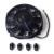 7 polegada Preto 12 V 80 W Auto Universal Ventilador Do Radiador De Refrigeração Elétrico Quente Rad Kit De Montagem