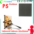 high bright outdoor led module p5 for taxi top  led sign wifi 3g 4g gprs, rental advertise p5 led outdoor display screen module
