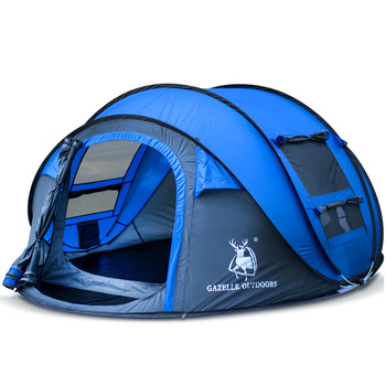 HUI LINGYANG tent pop up camping tents outdoor camping beach open tent waterproof tents large automatic ultralight family outdoor waterproof hiking camping tent anti uv portable tourist tent ultralight folding tent pop up automatic open sun shade