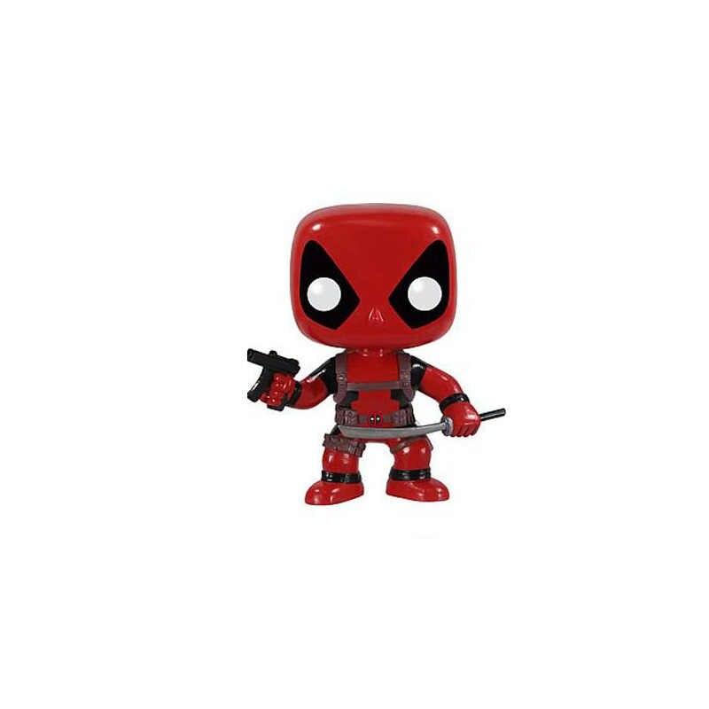 Funko POP 10 cm Deadpool Action Figure Modelo Anime X-Men Decoração Boneca ação Pvc Coleção Estatueta Brinquedos para crianças