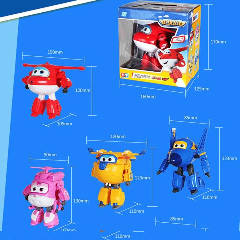 Image 5 - جديد وصول كبير 15 سنتيمتر ABS سوبر أجنحة تشوه طائرة روبوت التحول شخصيات الحركة لعب للأطفال هدية Brinquedosfigure toyaction figure toystoys for -