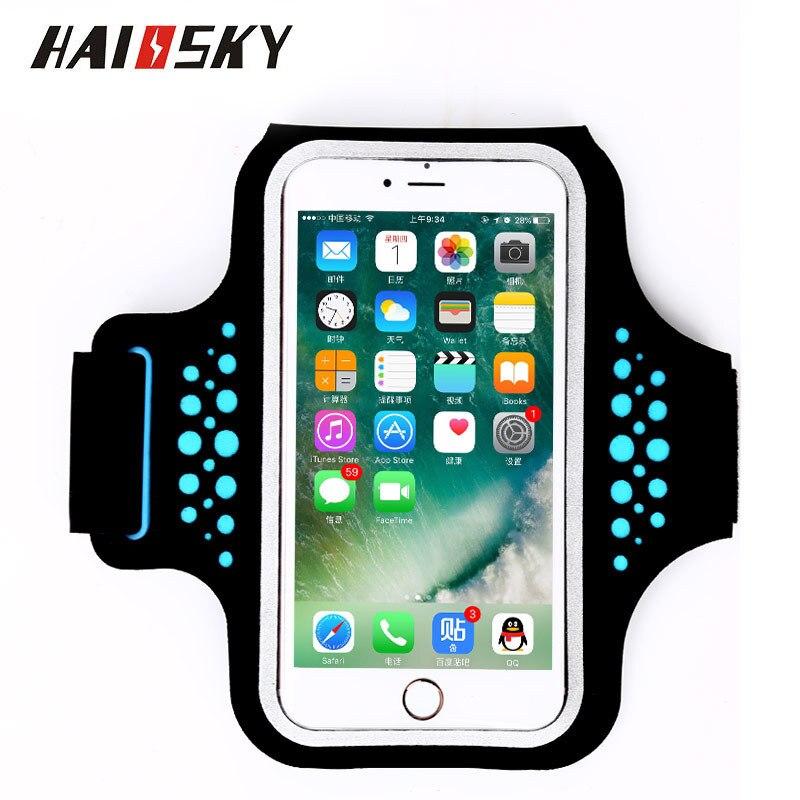 Haissky 5.5 '' Universal vattentät löpande sporttelefonfodral för - Reservdelar och tillbehör för mobiltelefoner - Foto 3