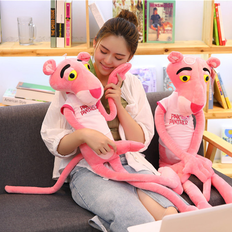 50/80CM High quality Pink Panther Plush Toys Stuffed Doll Magic Dolls Children Brinquedos Christmas Birthday Presents For Kids