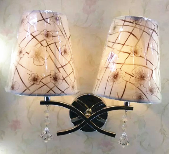 Chinese Modern fabric lamp, suitable for hotel and hostel rooms engineering home bedrooms, living room hallway