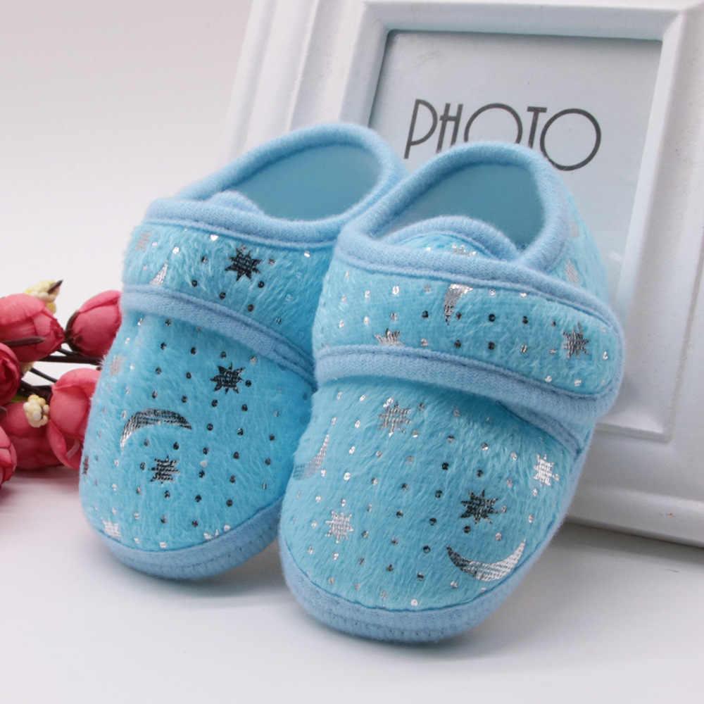 女の赤ちゃんの男の子秋新生児カジュアルシューズ幼児幼児ローファー靴コットンソフトソールベビーため 0 -18 メートル