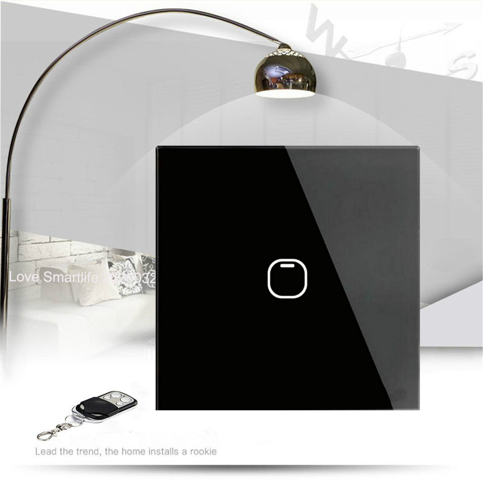 Interruptores e Relés casa inteligente interruptor de toque Material : Plástico