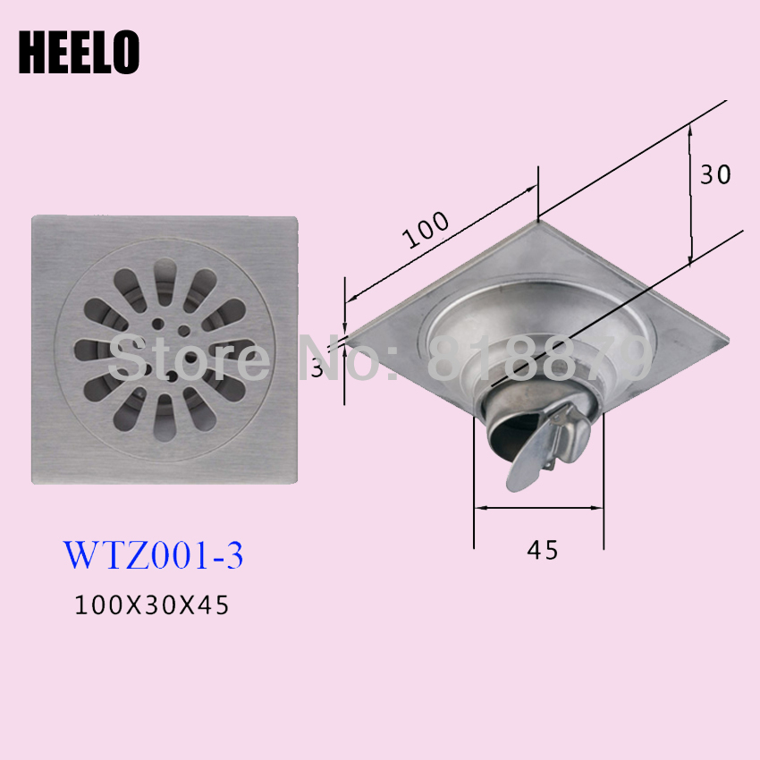 Bathroom 4 Quot Stainless Steel Self Sealing Water Trap Anti
