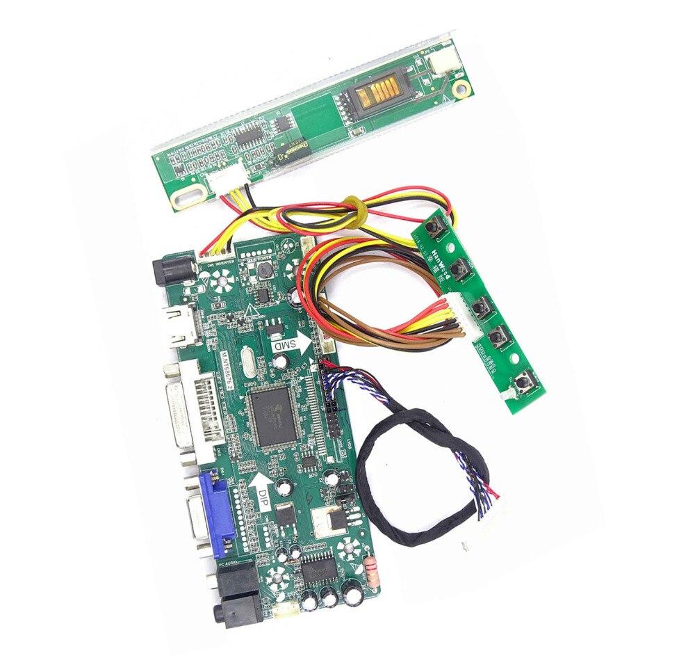 LCD Controller Board Driver Kit per LP154W01 Audio DVI TL VGA AD HDMI