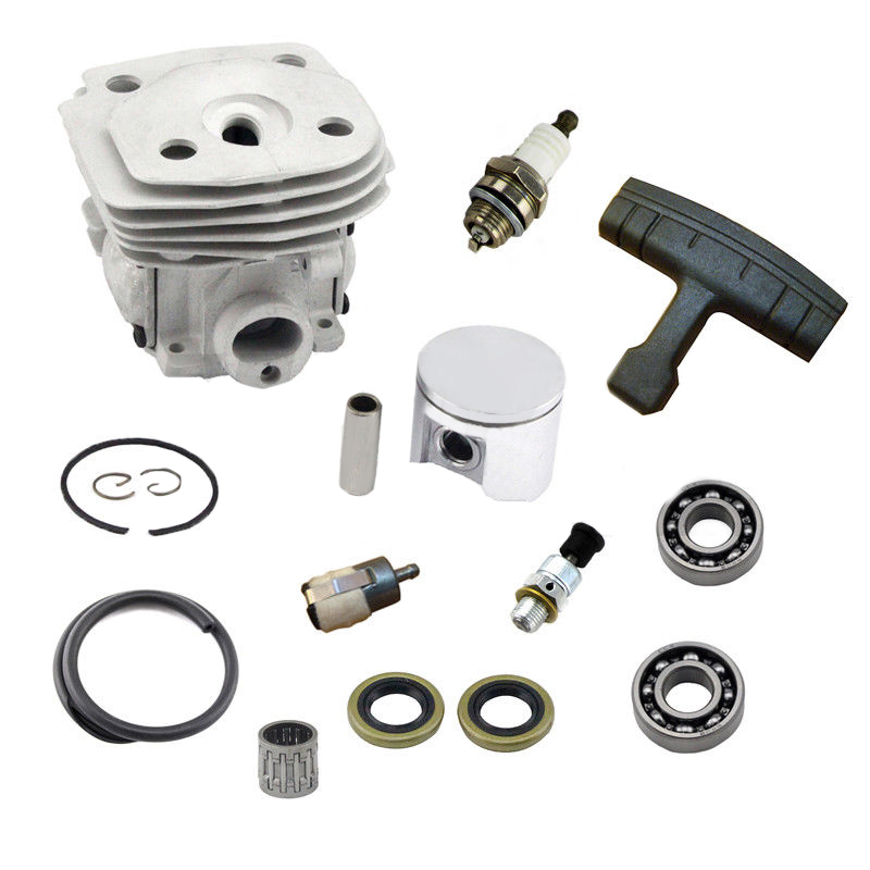 47mm Cylinder Piston & Ring Kit for Husqvarna 357 359 357XP Chainsaw Part Accs