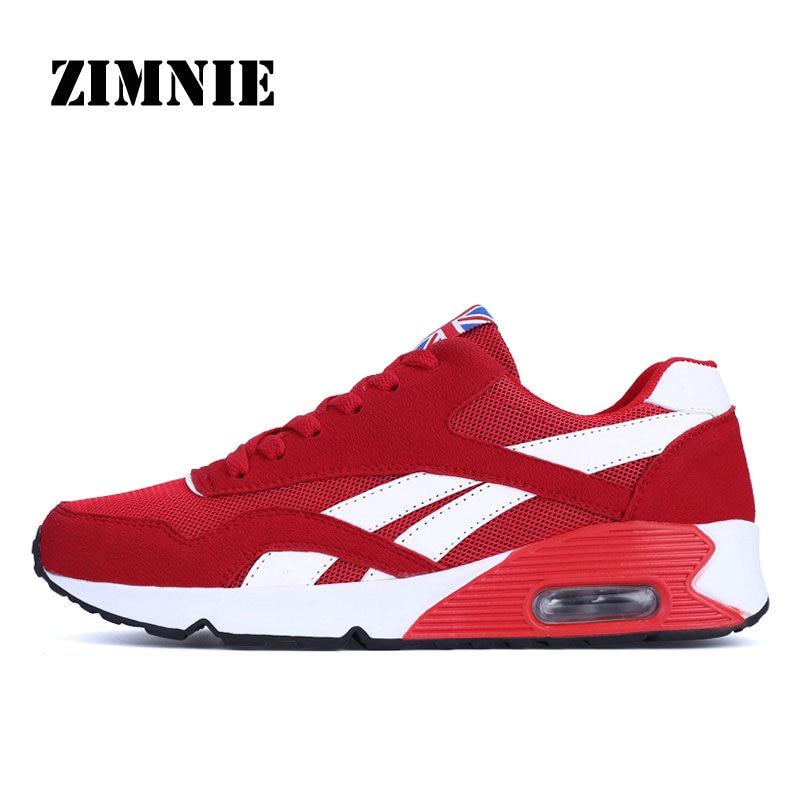 ZIMNIE Men Sport Shoes Outdoor Walking Sneakers Jogging Air Cushion Sneakers For Men New Brand Men