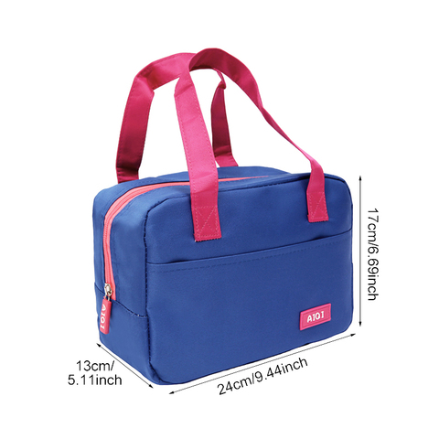 Large Oxford Thermal Cooler Bag Women Portable Thermo Bag Travel Picnic Insulated Food Storage Accessories Supply Product Lahore