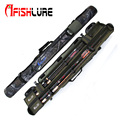 Ilure menglong double open lure rod bag fishing barrels lure fishing gear black/camouflage 1.2m/1.3m/1.45m