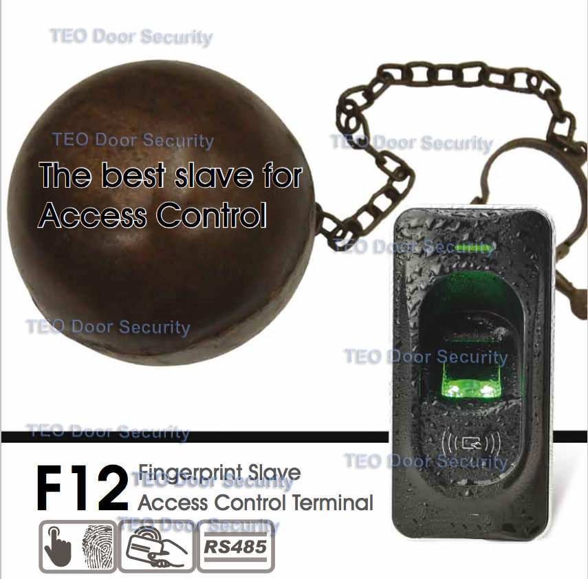 zkteco f7 access control cover suitable for f18 f7 plus protection shell waterproof cover rain cover access device case IP65 rated Fingerprint Slave Access Control ZK F12 FR1200 Master for ZK F7 F18 TF1700 ZKFinger VX10.0 RS485 Communication