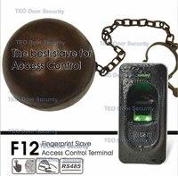 IP65 rated Fingerprint Slave Access Control ZK F12 FR1200 Master for ZK F7 F18 TF1700 ZKFinger VX10.0 RS485 Communication